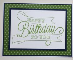 Stampin' Up! Another Great Year MissyJ 2014