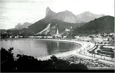 Rio was much more beautiful. The end of Rio Branco Ave.