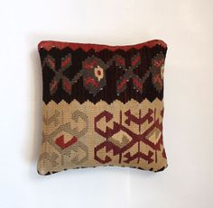 Decorative Kilim Pillow Accent Pillow With by SultanaDecorPillows, $47.00
