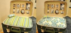 DIY Suitcase Bed