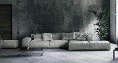 Contemporary modular sofa by Piero Lissoni NEOWALL  Living Divani