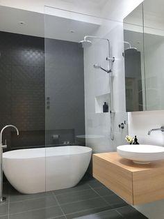 nice Minimalist Bathroom Design Ideas For Modern Home Decor Bathroom Goals, Small Bathroom, Master Bathroom, Bathroom Ideas, Modern Bathrooms, Minimalist Bathroom Design, Bathroom Interior Design, Bathroom Styling, Bathroom Storage
