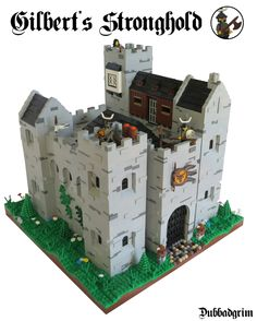 The source for all your LEGO Castle needs! Chateau Lego, Lego Burg, Lego Village, Play Wood, Lego Boards, Minecraft Architecture, Lego Construction, Dungeon Maps, Lego Building