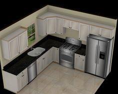9 x10 kitchen ideas   Brewster Kitchen and Bath Design, Kitchen Plans, Bathroom Plans ...