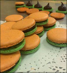 Tricolored Macarons in celebration of Republic Day! #India #RepublicDay #Tiranga #ParisianTreats #PatrioticTouch #Ambrosia
