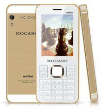 Kocaso Cell Phone 2G Unlocked Dual SIM Camera Flash Bluetooth Motion Keypad,  cool phone.