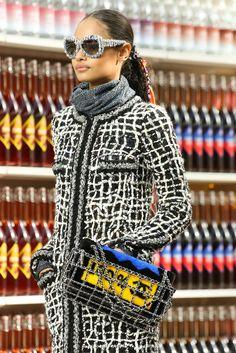 Chanel Otoño 2014 desfile supermercado