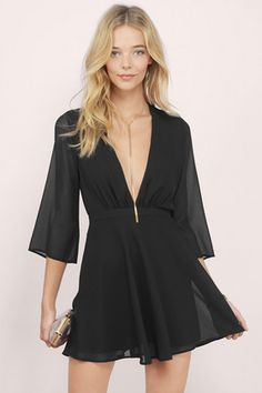 Night Flight Flare Dress