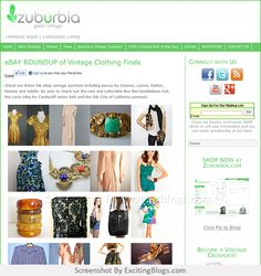 Zuburbia Vintage Clothing   Timeless Style   Conscious Living - Click to visit site:  http://1.33x.us/J6DdHo