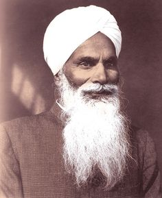 His Holiness Baba Sawan Singh: The Charismatic Sikh Saint Radha Soami, Ideal Man, Religious Quotes, Meditation, Religion, Spirituality, India, Turban, People