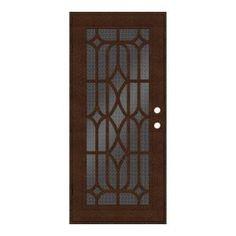 Unique Home Designs – Security Doors, Screen Doors and Window Guards ...