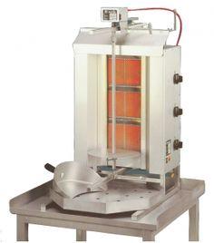 Gyros Grill gaz POTIS G3, 455x590x1120mm,
