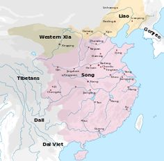 Zhou dynasty the east zhou map in the end years fifth century a map showing the territory of the song liao and western xia dynasties the song occupies the east half of what constitutes the territory of the modern sciox Gallery
