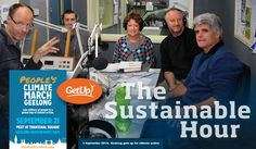 Geelong gets up for climate action |A state election is approaching in Victoria, Austalia, in November. Will we hear any of the candidates talk about sustainability, onshore gas exploration, or climate change policy in their debate at public election meetings and in the media? On 3 September 2014 three members of the GetUp Geelong team visited the Sustainable Studio on 94.7 The Pulse.
