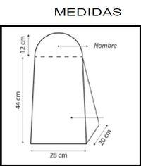 MEDIDA PARA GUARDAPAÑALES