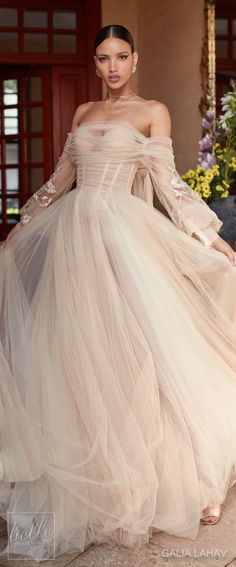 Wedding dress by Galia Lahav Couture Bridal - Fall 2018 - Florence by Night - Magnolia