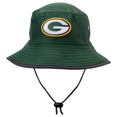 huge selection of 28054 e7ac6 New Era Green Bay Packers NFL 2017 Training Camp Official Bucket Hat