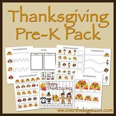 Thanksgiving Pre-K P