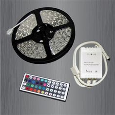DIY Universal DC Strip 300 LED Light Kit 60w Color Change Remote Control 16 Feet