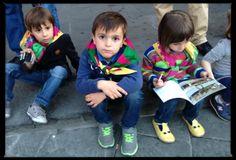 Children from La Contrada Drago.
