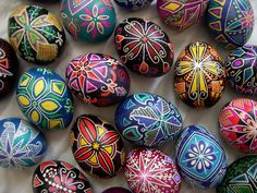 czech egg | ... easter egg decorated using a wax resist batik method the word comes