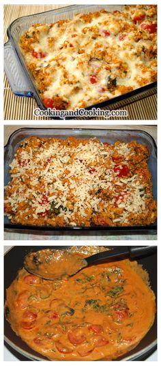 Quinoa and Chicken Casserole - easy and tasty main dish recipe! #dinner #chicken #quinoa