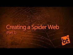 Creating Spiderwebs in Blender 2.5x (Part I) - YouTube