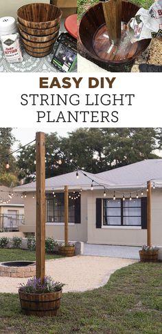 Diy Patio, Backyard Patio, Backyard Landscaping, Patio Ideas, Landscaping Ideas, Pergola Ideas, Wood Patio, Budget Patio, Pergola Kits