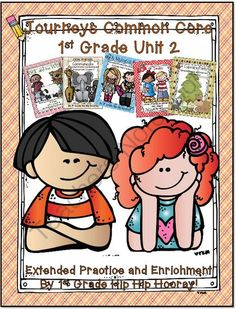 Journeys Common Core 1st...Unit 2 Bundle...Save My Ink from First Grade Hip Hip Hooray on TeachersNotebook.com -  (330 pages)  - Contains enrichment, practice, and review for Journeys Common Core Unit 2 Curriculum.