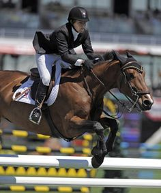 Beezie Madden (USA) and Prima - 2010 winners of the TransCanada Parcours de Chasse #BeezieMadden