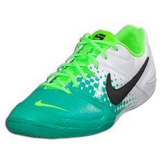 NIKE5 Men's Elastico Astroturf Soccer Boots, White/Black/Green, US9 Nike. $75.32