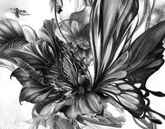 sora bouquet by kahori maki, via Behance