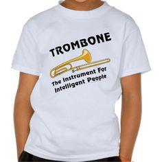 Slide Trombone Shirt Trombone Player Marching Band Band Teacher Music Gift