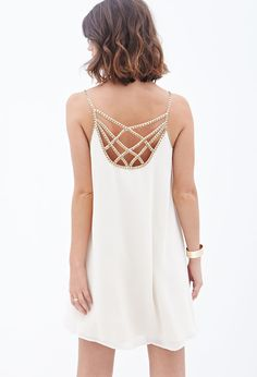 Touch-of-Glam Shift Dress | LOVE21 - 2060749043. obsessed! soo pretty!!!
