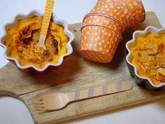 Flans carottes, curry et moutarde