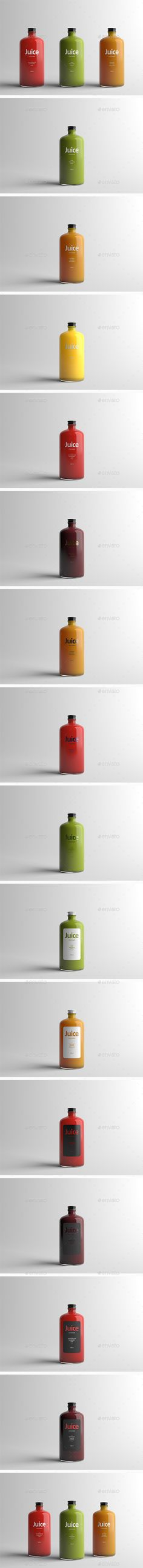 Juice Bottle Packaging Mock-Up. Download here: http://graphicriver.net/item/juice-bottle-packaging-mockup/15336098?ref=ksioks