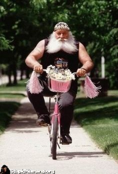 old-man-on-a-pink-bike-man-girls-bike-rerun-stupid-human-1293103189.jpg (336×494)