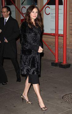 Julia Roberts Shoes & coat