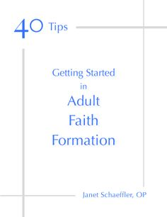 Getting Started in Faith Formation cover(blue and gray)