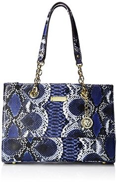 Women's Shoulder Bags - Anne Klein Coast IS Clear Small Tote Midnight Multi *** Visit the image link more details.