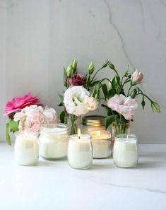 Beton Gießen Blumentopf Aus Zement, Handschuhe, Eimer, Blumen ... Blumen Behaltern Zu Hause