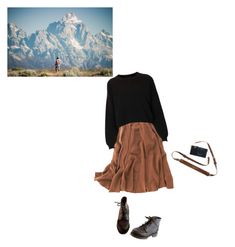 """""""Wander"""" by thespiritofaries ❤ liked on Polyvore featuring Timberland, Madewell and Topshop"""