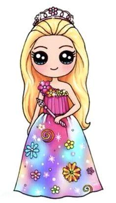 Hey guys try to create a name for her best name wins - para dibujar arte a lápiz de chicas kawaii dibujo Kawaii Girl Drawings, Bff Drawings, Cute Girl Drawing, Disney Drawings, Cartoon Drawings, Drawings Of Princesses, People Drawings, Drawing Drawing, Kawaii Disney