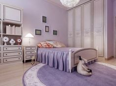 spacious room with purple walls, a large wardrobe, Fall Bedroom, Boho Bedroom Decor, Woman Bedroom, Small Room Bedroom, Cozy Bedroom, Bedroom Ideas, Large Wardrobes, Purple Bedding, Teen Girl Rooms