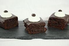 Espresso Truffle Brownies from Grace's Sweet Life gracessweetlife.com