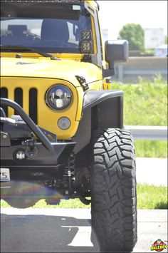 2015 Jeep Wrangler rockin' new GenRight aluminum fenders, a Poison Spyder front bumper and a Warn winch, installed at Axleboy. __________________________________ #Axleboy #offroad #jeep #Wrangler #upgrade #jeepshop #missouri #kcco #ofallon #stlouis #stl #yellow #jeeplife #jeepbeef #4x4 #4wd #jeepthing #ollllllo