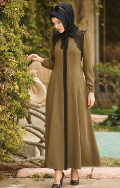 Foto Cewek Muslimah Cantik Tulungagung Cari Jodoh Abaya Fashion, Muslim Fashion, Modest Fashion, Fashion Dresses, Simple Long Dress, Simple Dresses, Hijab Style, Hijab Chic, Modele Hijab