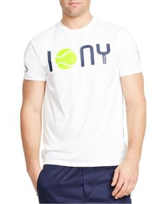 Polo Ralph Lauren Us Open Rlx Ny Performance Jersey Tee Us Open, Tennis Clothes, Tshirts Online, Mens Tees, Shirt Style, Polo Ralph Lauren, T Shirt, Outfits, Shopping