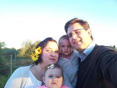 Familia por el campo