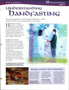 (Sell the Ribbons) Handfasting - Can be done as a commitment when Engaged (a year prior to the actual or wedding) or can represent the wedding itself. *Absolutely love the idea of this being done before the engagement party, or around that time Wiccan Wedding, Viking Wedding, Celtic Wedding, Irish Wedding, Wedding Ceremony, Our Wedding, Dream Wedding, Wedding Ideas, Nordic Wedding
